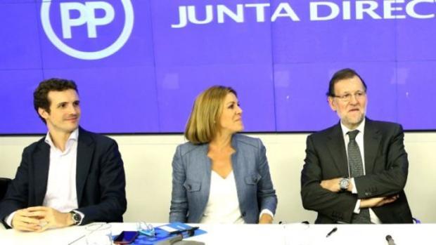 cospedal Casado Rajoy ABC