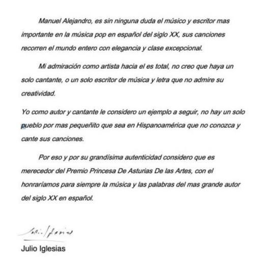 Julio Iglesias Manuel Alejandro