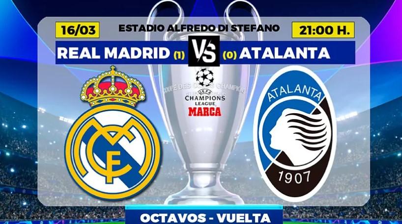 R Madrid-Atalanta