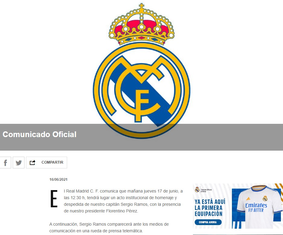 Real Madrid Sergio Ramos