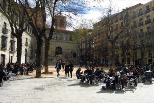 Plaza de la Paja terrazas